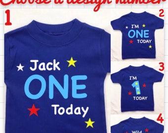 Birthday boy Personalised T-shirt