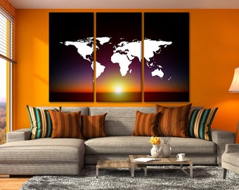 world canvas map world maps world map oversized framed of map of the world map poster