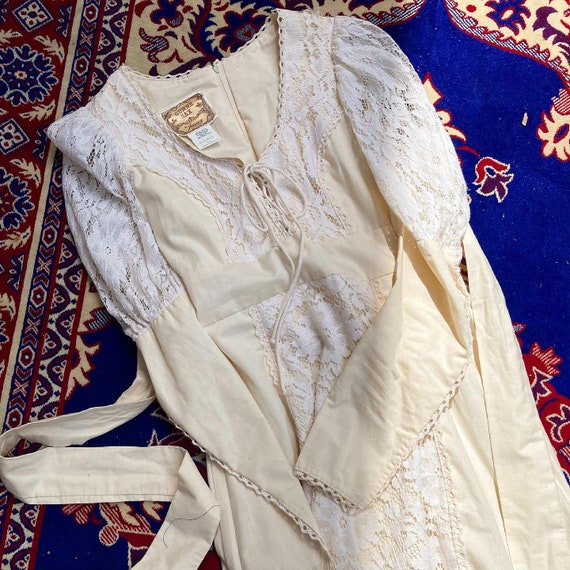 1970s Gunne Sax Dress - image 1