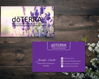 Doterra business cards etsy personalized doterra business card custom doterra business card custom business card doter essential oil printable business card do08 cheaphphosting Choice Image