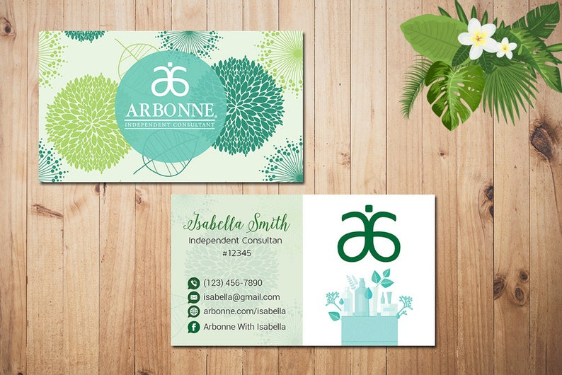 Arbonne Business Cards Etsy Sell Stickers On Etsy