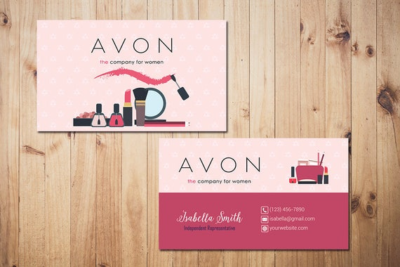 image 0 - Avon Business Cards