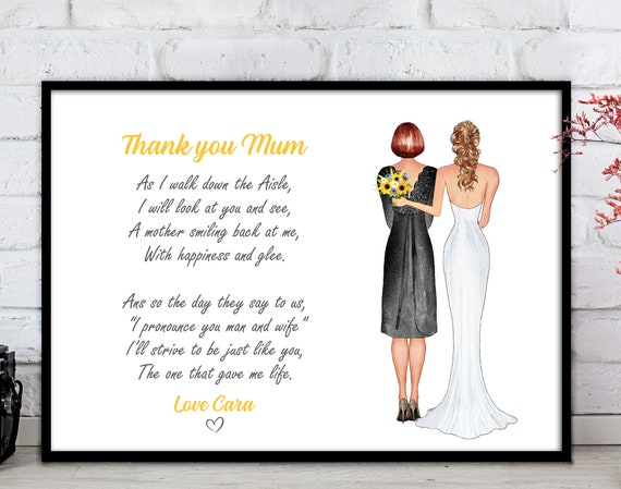 Mother Poem From Wedding Dress