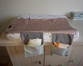 changing mat incl. diaper pouch