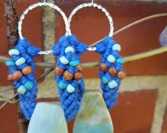Large Amazonite Earrings