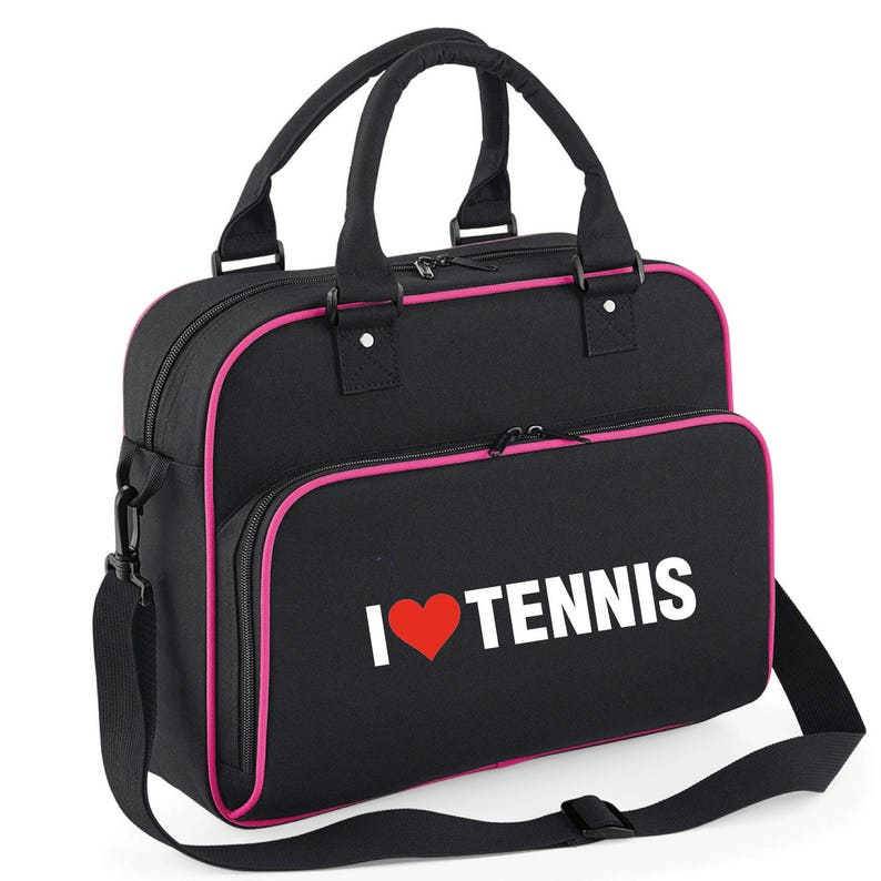 2c55abd17ffc iLeisure Ladies I Love Tennis Dance Kit Bag. Dance Bags Dance