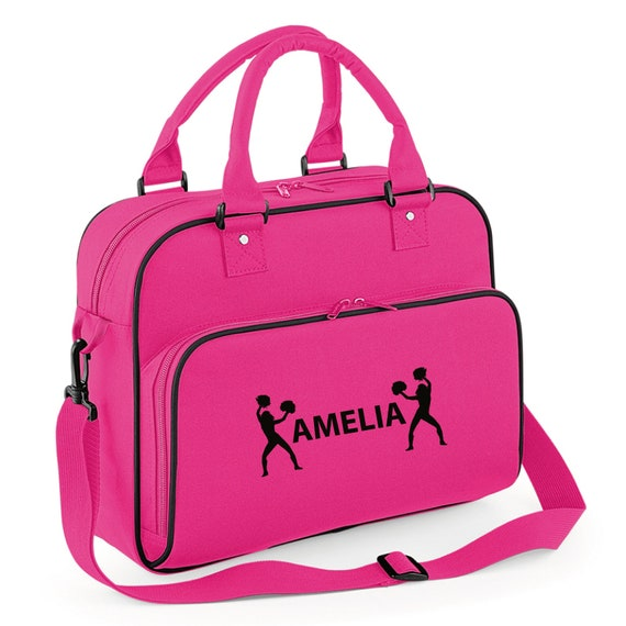 Personalised Ballet Bag with Glitter Print      Gymnastics Dance /& Gym Bags