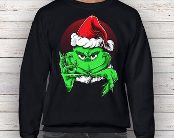 Grinch Sweater Etsy