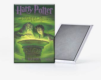 Harry Potter and the Half Blood Prince Cover Refrigerator Magnet 2x3