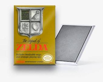 La leyenda de Zelda NES Nintendo refrigerador imán 2 x 3