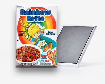 Rainbow Brite Cereal Refrigerator Magnet 2x3