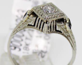 Art Deco Statement Ring