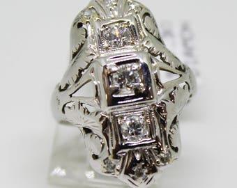 Art Deco Vintage Statement Ring
