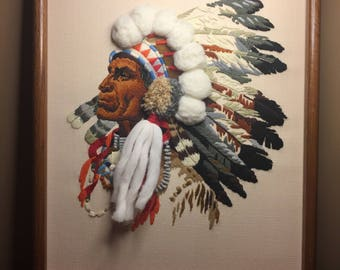 Cherokee Headdress Etsy
