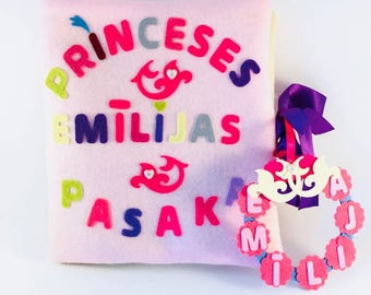 New born gift, princess's story, personally to newborn, every tale is possible,personal fairy tale, with bonus