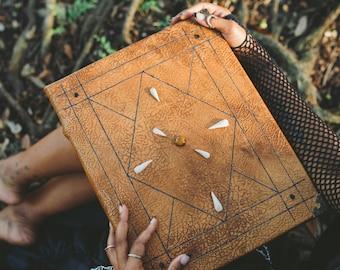 Leather Spellbook Wizarding Journal Grimoire Photo Album Guest Book