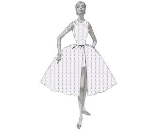 Nancy Wheeler Summer Dress Stranger Things Digital Fabric Print