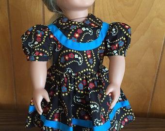 Fall Doll Dress