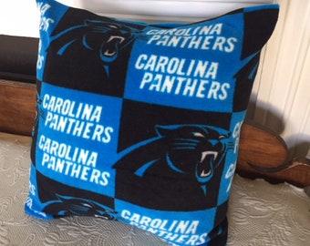 Carolina Panther Fleece Pillow Cover
