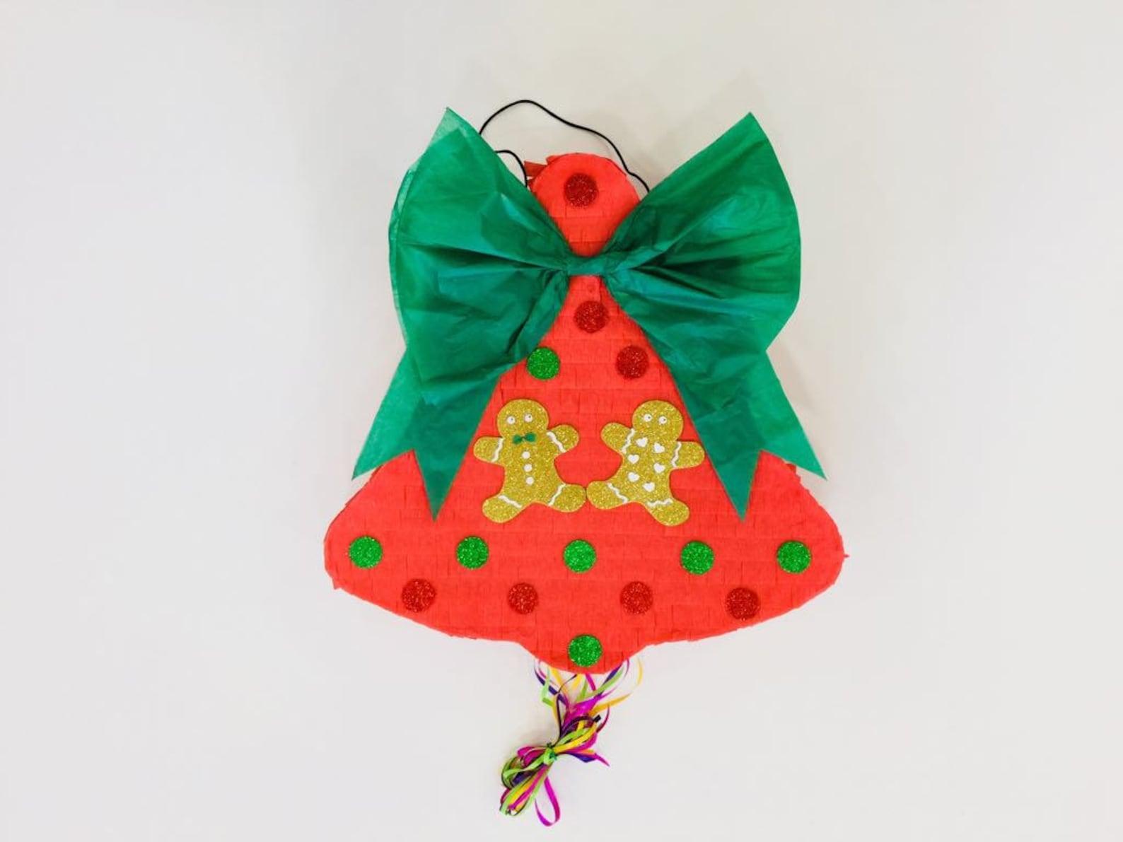 Christmas Bell Pinatas