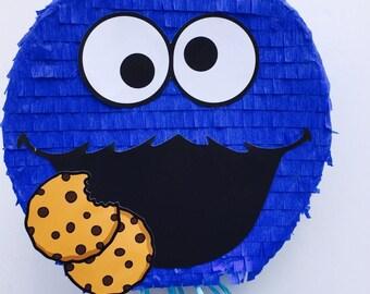 Birthday Celebration Cookie Monster Pinata (Sesame Street). Birthday Celebration Cookies Monster piñata (Sesame District)