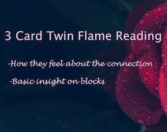 Twin flame readingsoulmates love Reading for blocks / | Etsy