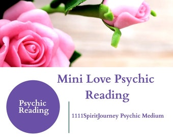 Mini Love Psychic Reading -love Tarot Oracle Twin Flames,Soulmates ,Past life connections ,Single ,Married, Separated,Karmic connection ,