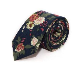 de MORÉ - blue vintage tie
