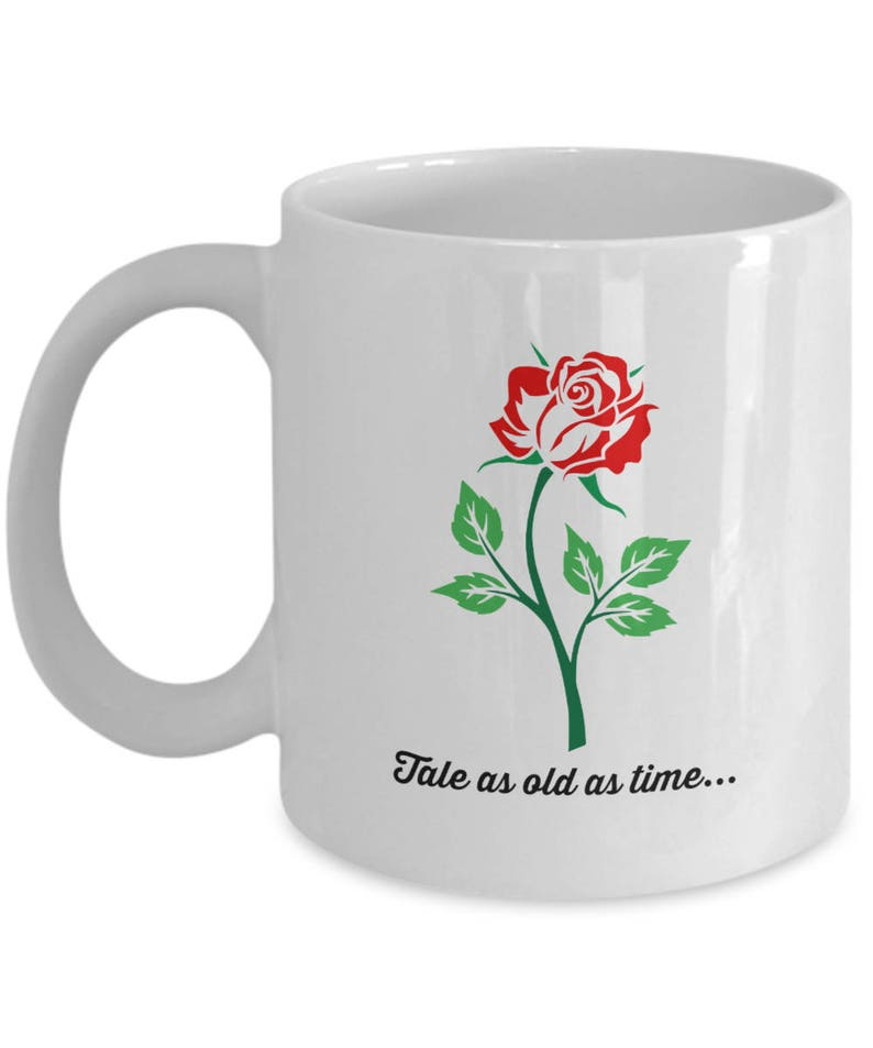 As Tea Coffee And The Beast Disney Movie Mug Film Beauty Gift 11 Enchanted Rose Cup Tale White Fan Oz Belle Old Time l5JTF3ucK1