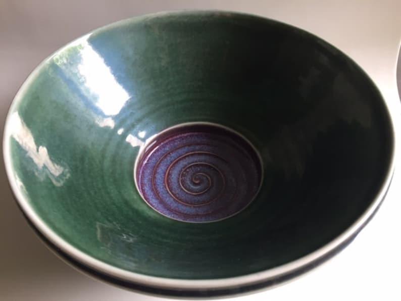 USA Zeinert Pottery Studio Pottery Bowl Collectible