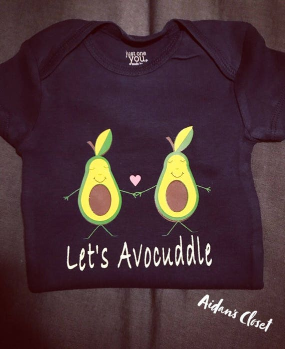 272bad282 Let's Avocuddle Onesie Cute bodysuit baby shower gift | Etsy