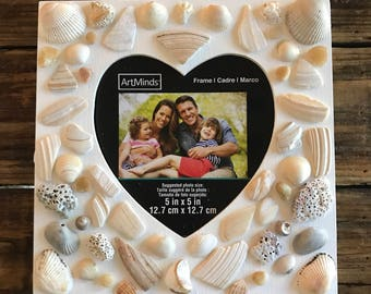 Sea shell photo frame- Under the Sea