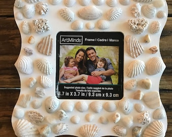 Sea shell photo frame- Mermaid's treasure