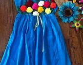 Size 6 Mexican Girls Fiesta Dresses - Coco Theme Fiesta 6 Dresses