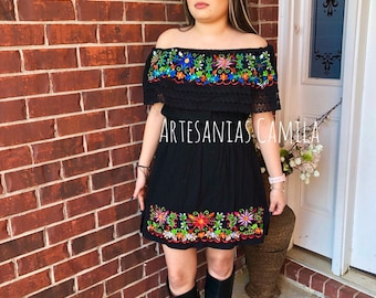 Mexican dress plus size | Etsy