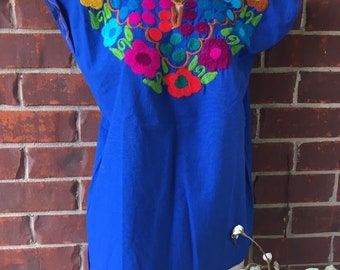 Mexican frida style blouse