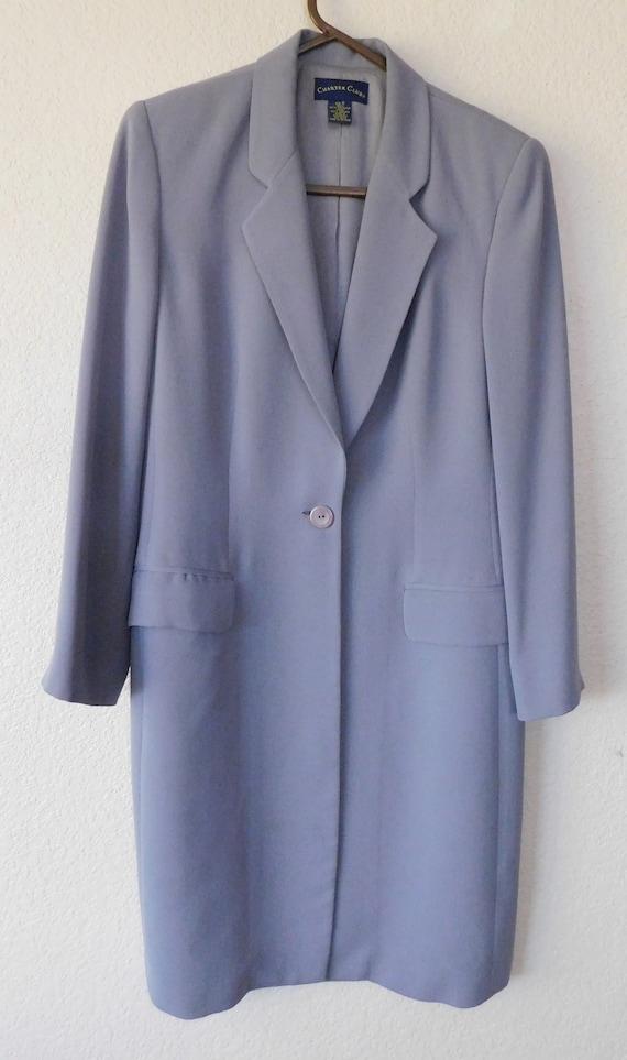 Charter Club women's Lavender coat/vintage classic