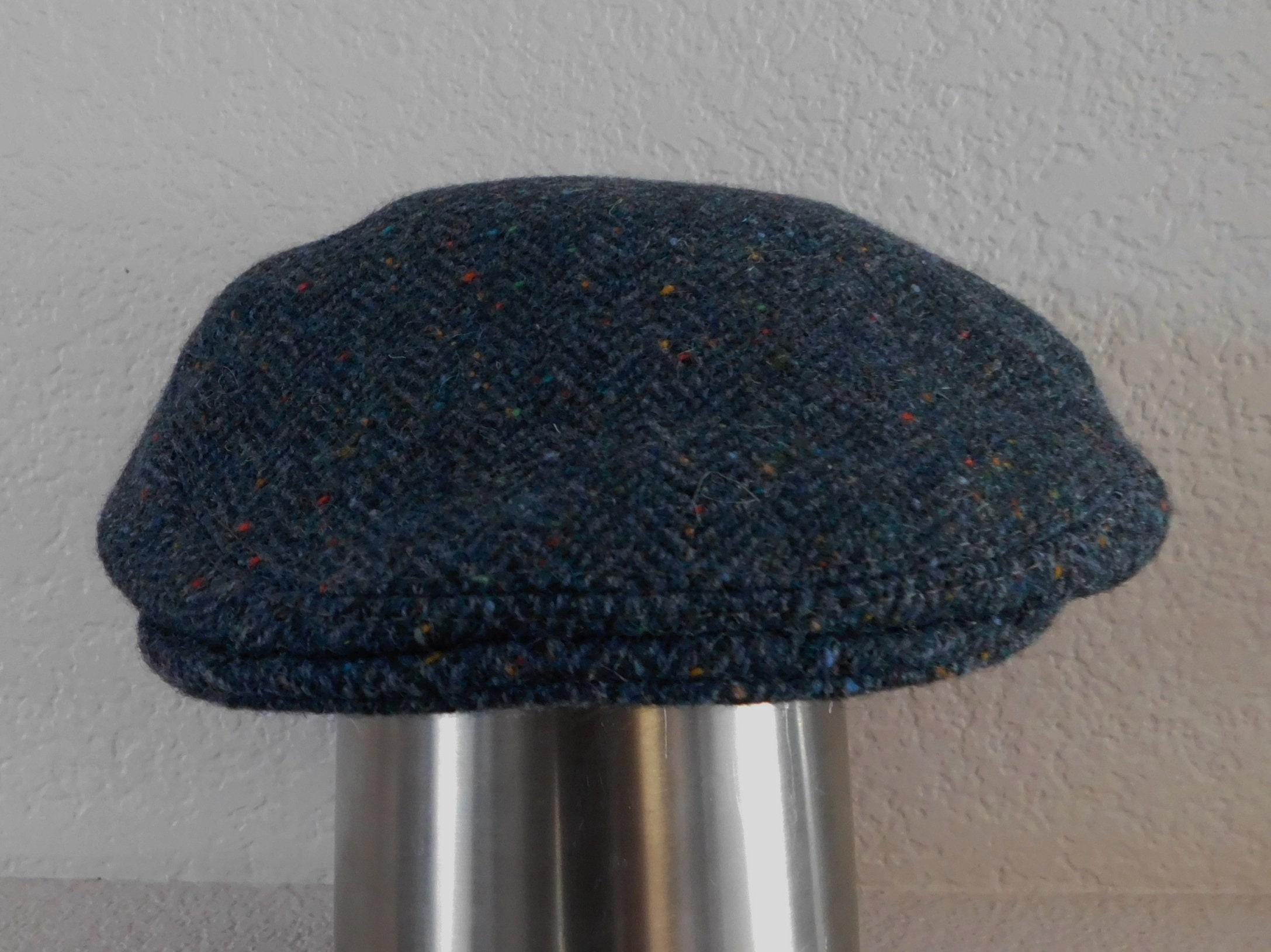 Shandon head wear Donegal tweed woven in Ireland new wool size  9f54cb4c4c5
