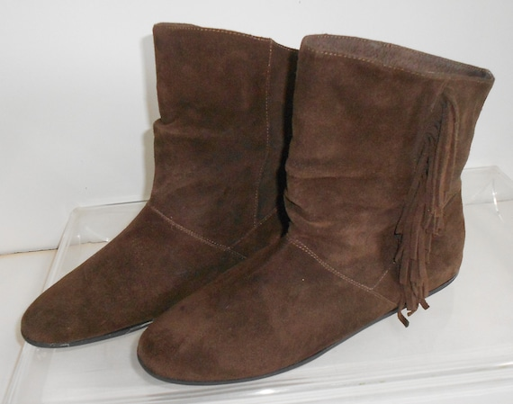 Steve Madden women's suede ankle boots