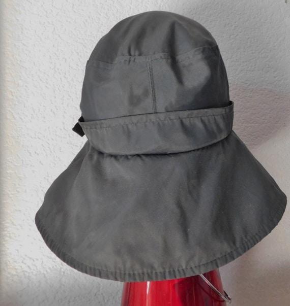 Head up cotton bucket rain hatmade in Canada 100/% cotton exclusive taim garniture bucket rain hatgray a side buckle rain bucket hat