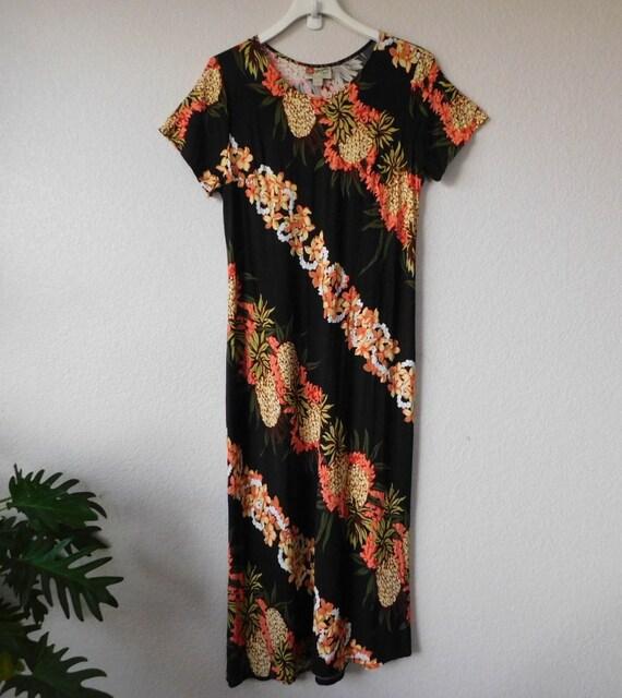 Hilo Hattie Hawaiian original women's long dress/s
