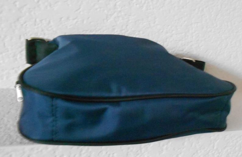 894c7e95c U.S.Polo assn Ralph Lauren   blue canvas shoulder bag coin