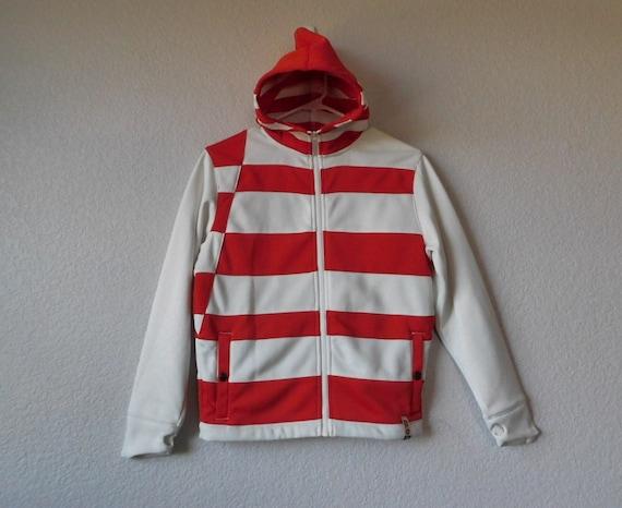 Bonfire skateboarding youth hoodie jacket/orange w