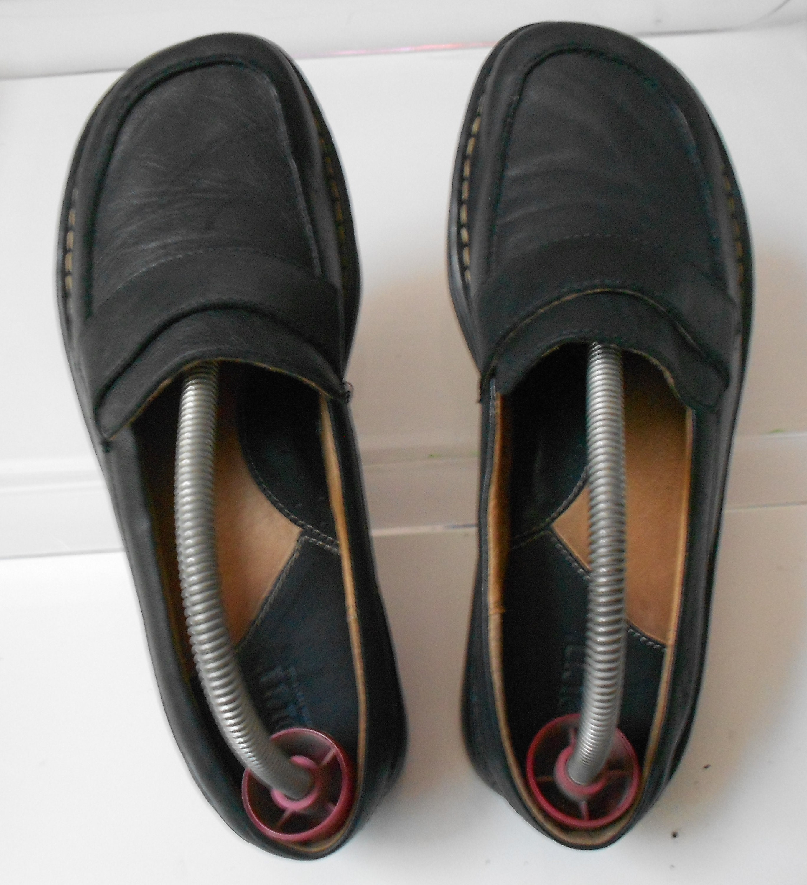 ab9af5bcf2ab Born women s mules loafers shoes black leather handcrafted