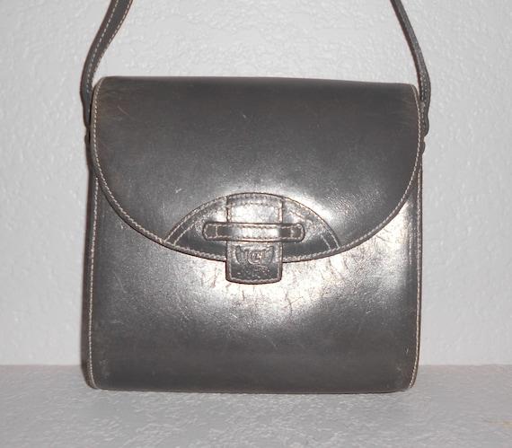 973cf105bdf1 Liz Claiborne SPORT vintage women s gray leather messenger