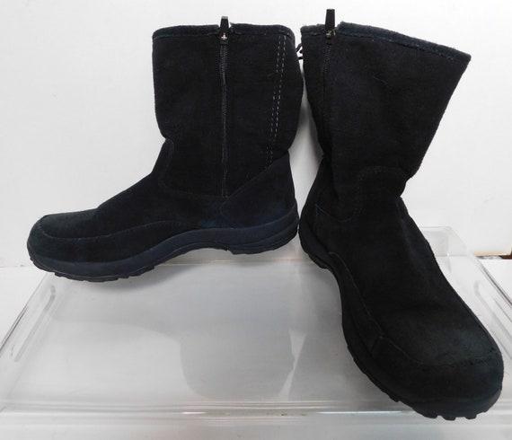 Daim noir cheville bottes/taille L.L.Bean hommes hommes hommes 11.5 M e9624f