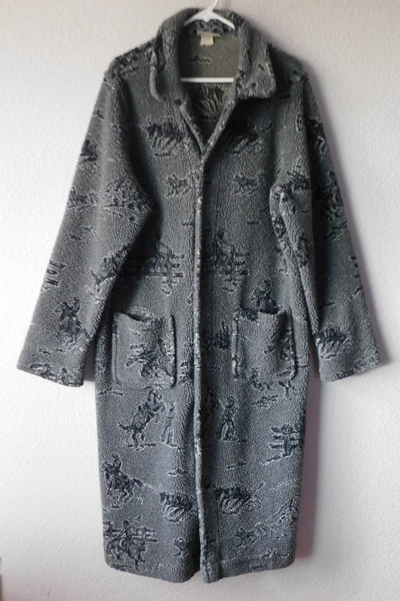 Chico's vintage men's house coat/western cowboy th