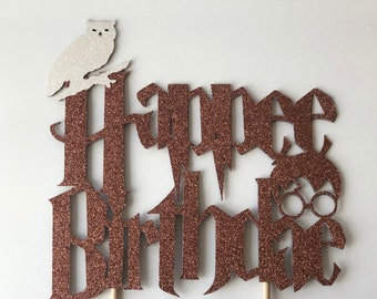 Happee Birthdae Cake Topper,Harry Potter Cake Topper, Harry Potter Party, Happy Birthday Topper, Harry Potter Decorations