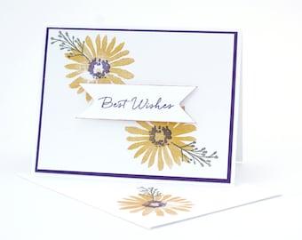 Flowery Sympathy Card / SS008E