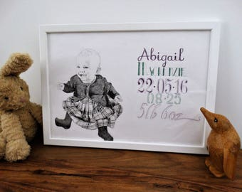 Personalised Baby Portraits